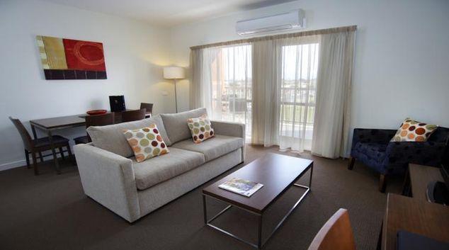 Living area at Quest Mildura