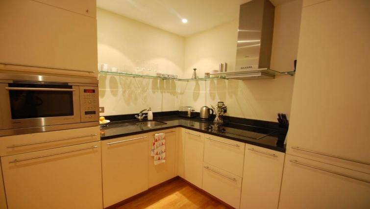 Kitchen in Hosier Lane Apartment