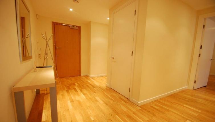 Corridor area in Hosier Lane Apartment