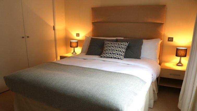 Bedroom in Hosier Lane Apartment