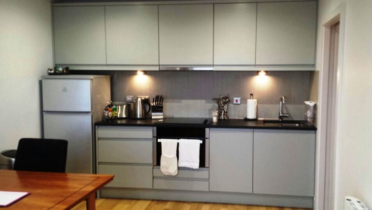 Kitchen at Eden House Apartments