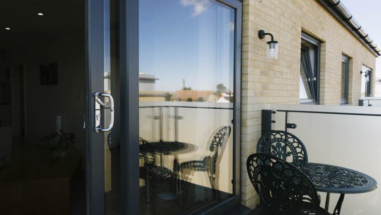 Balcony at Eden House Apartments