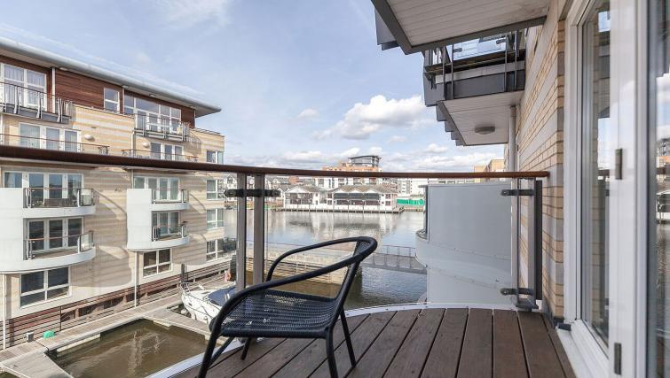 Balcony at Marina Place Apartments