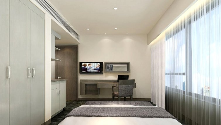 Living area at Somerset Victoria Park Apartments