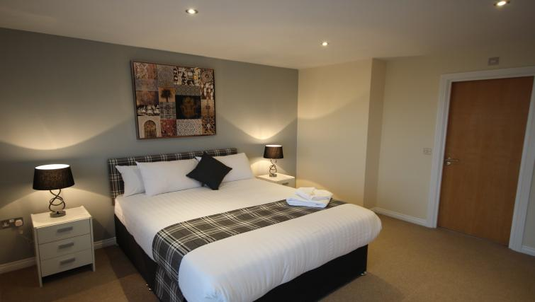 Bedroom at Curzon Place