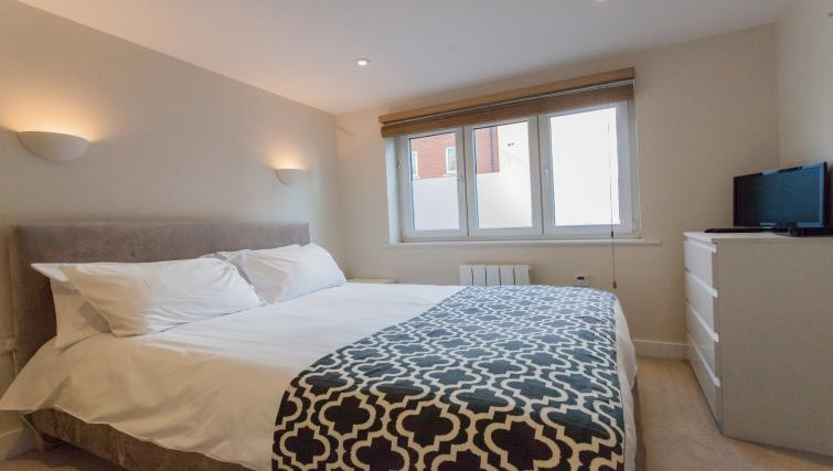 Bedroom at The Willows Apartments