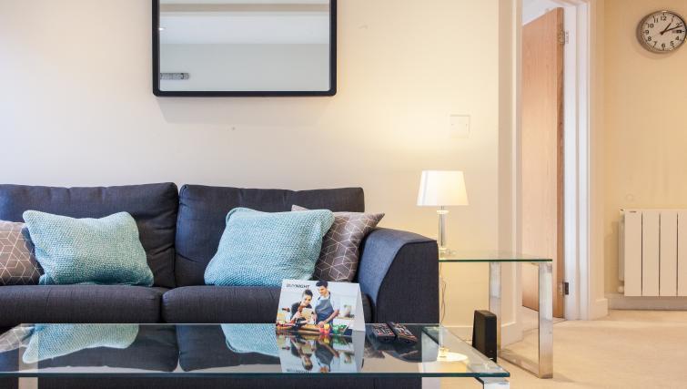 Sofa at The Willows Apartments