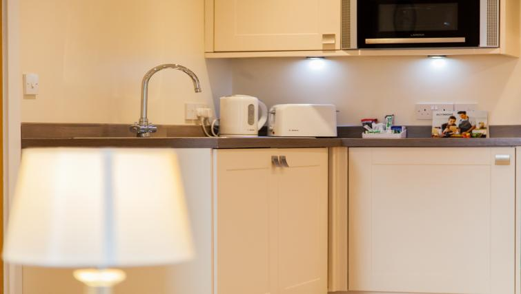 Kitchen facilities at The Willows Apartments
