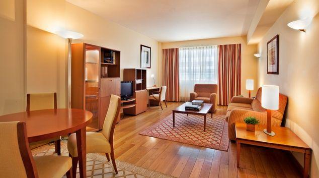 Living room at Altis Suites