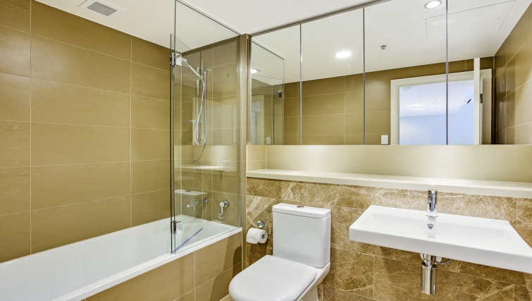 Bathroom at Astra Apartments Rhodes Walker Street