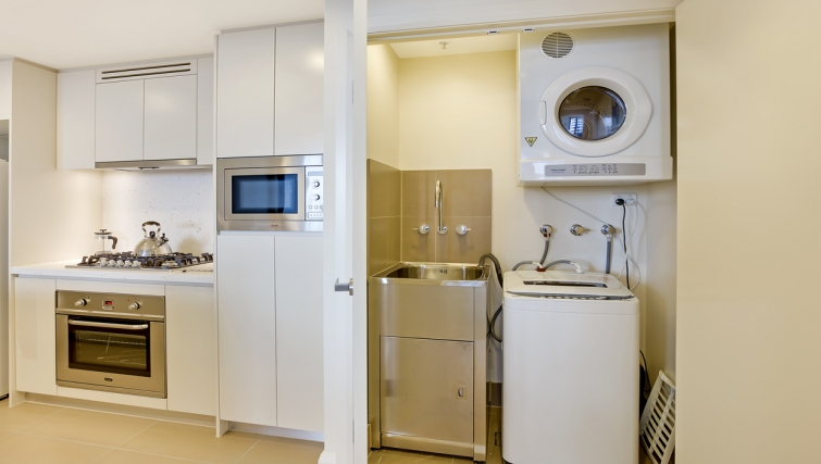 Laundry at Astra Apartments Rhodes Walker Street