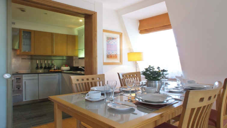 Kitchen at The Kings Wardrobe Apartments