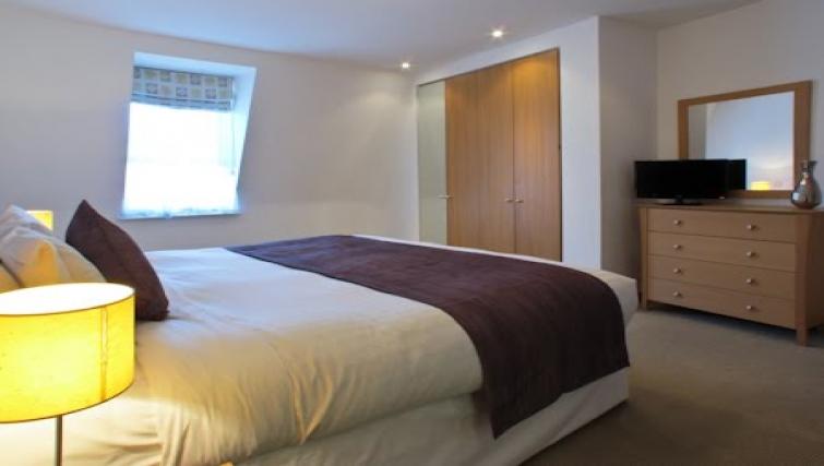 Bedroom at The Kings Wardrobe Apartments