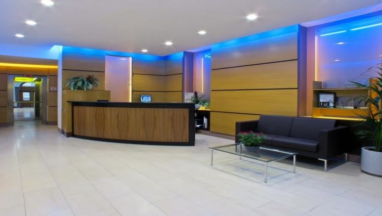 Lobby area at The Kings Wardrobe Apartments
