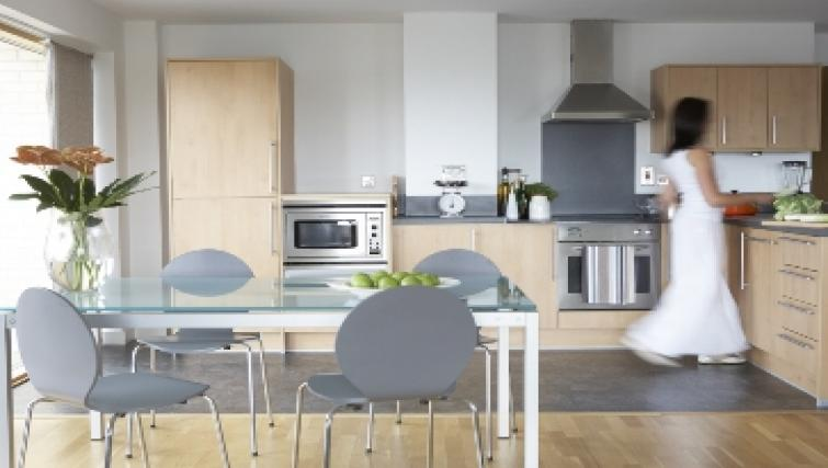 Sensational kitchen in Chambers Riverside West Apartments