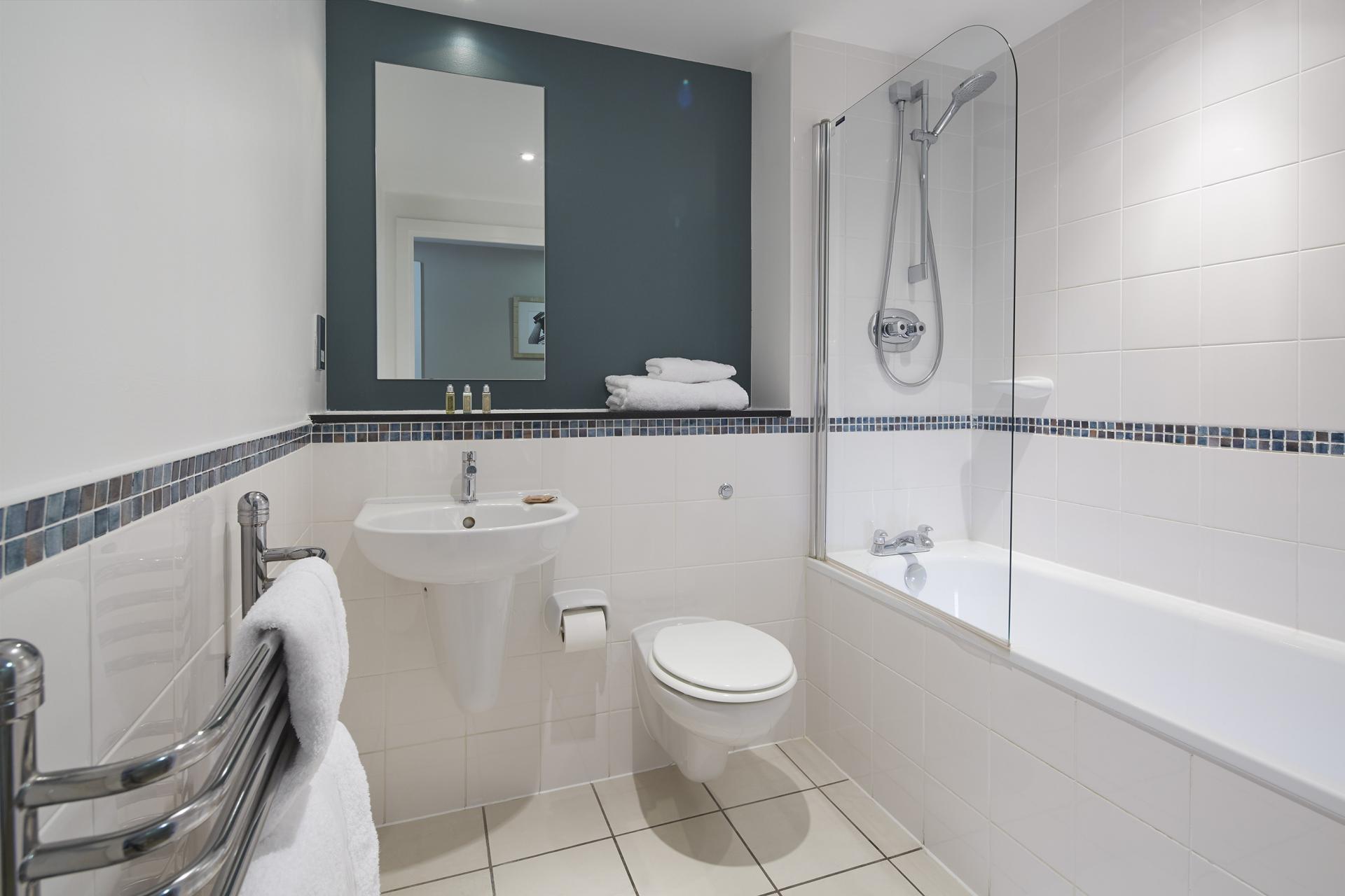 Bathroom at Empire Square Apartments, London Bridge, London
