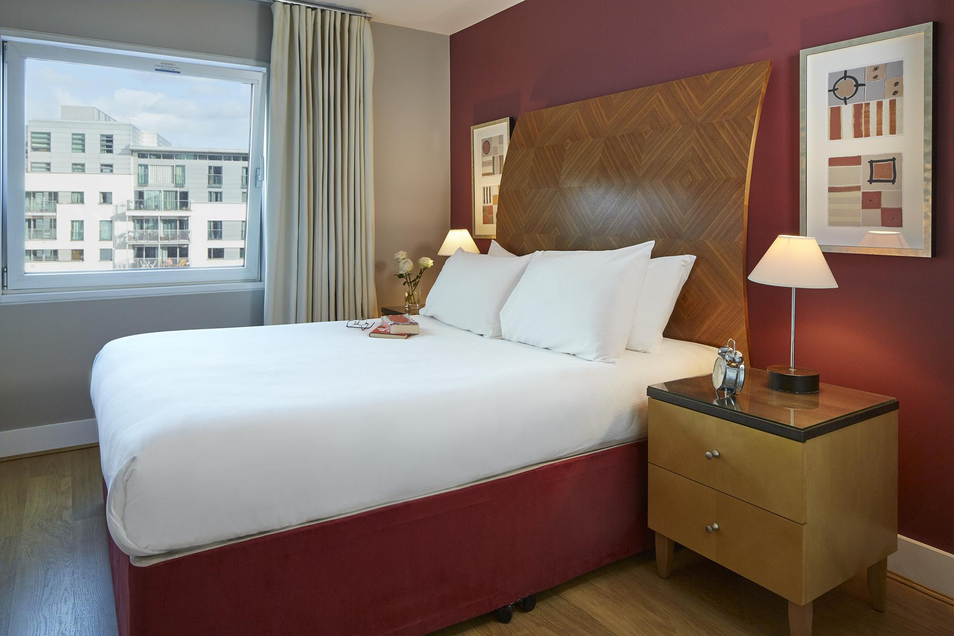 Bedroom at Empire Square Apartments, London Bridge, London