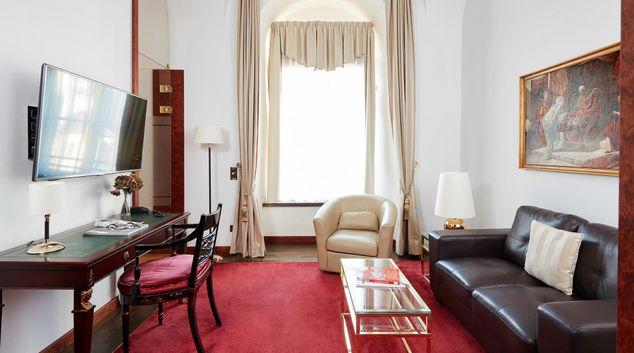 Living area at Living Hotel De Medici Apartments, Altstadt, Dusseldorf