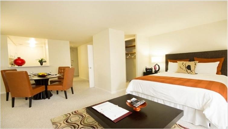 Bedroom at Gateway Apartment