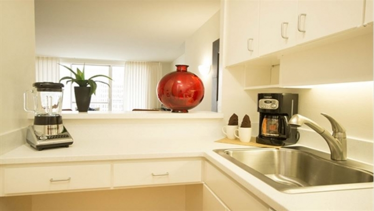 Kitchen at Gateway Apartment