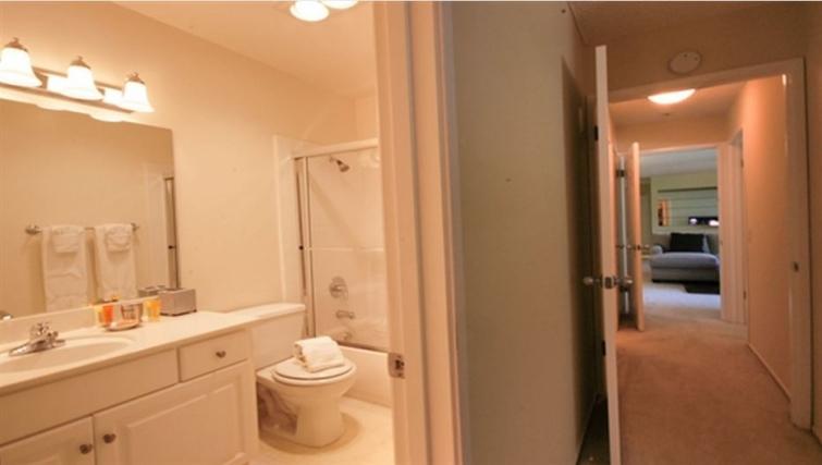 Bathroom at Oak Creek Apartments