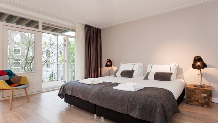 Bedroom at Rijksmuseum Apartments, Amsterdam - Cityden