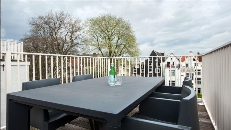 Terrace at Center Area Apartments, Amsterdam - Cityden