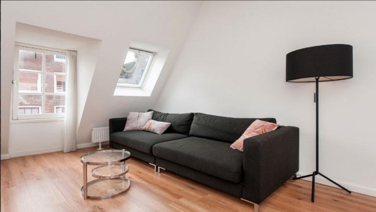 Living area at Center Area Apartments, Amsterdam - Cityden
