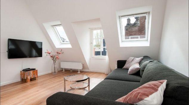 Bright living area at Center Area Apartments, Amsterdam - Cityden