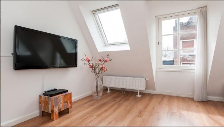 Cosy living area at Center Area Apartments, Amsterdam - Cityden