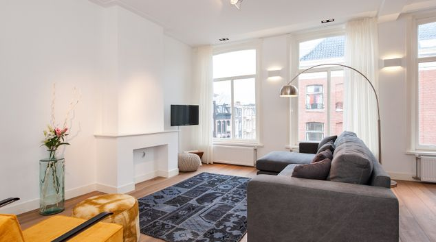 Living room at Museum District Apartments, Amsterdam - Cityden