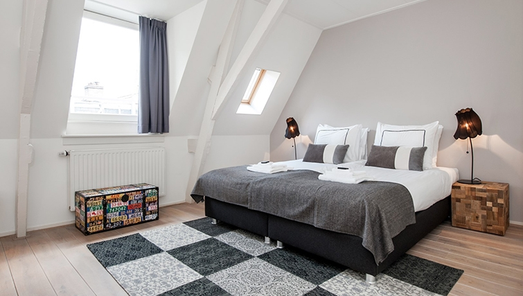 Bedroom at Old South Apartments, Amsterdam- Cityden