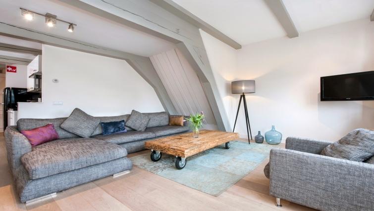 Sofa at Canal Apartments, Amsterdam - Cityden