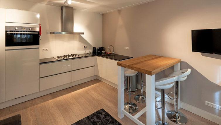 Kitchen at Jordan 9 Streets, Amsterdam - Cityden