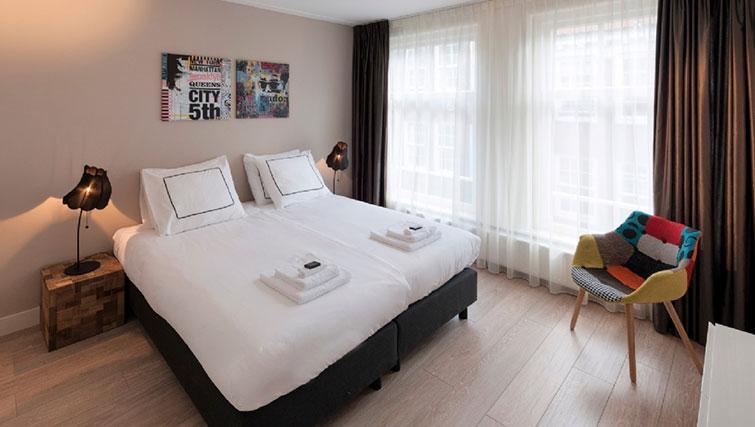 Bedroom at Jordan 9 Streets, Amsterdam - Cityden
