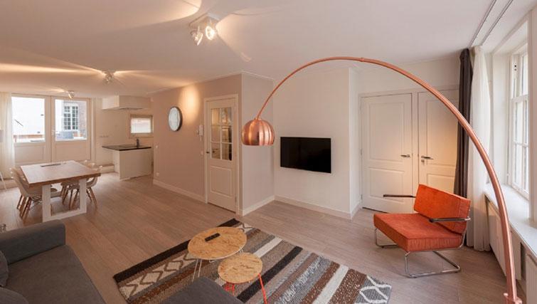 Living area at Jordan 9 Streets, Amsterdam - Cityden