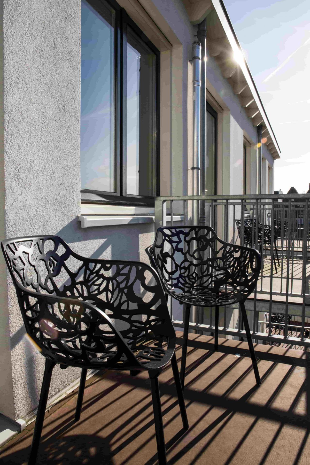 Balcony at Old Center Apartments, Amsterdam - Cityden