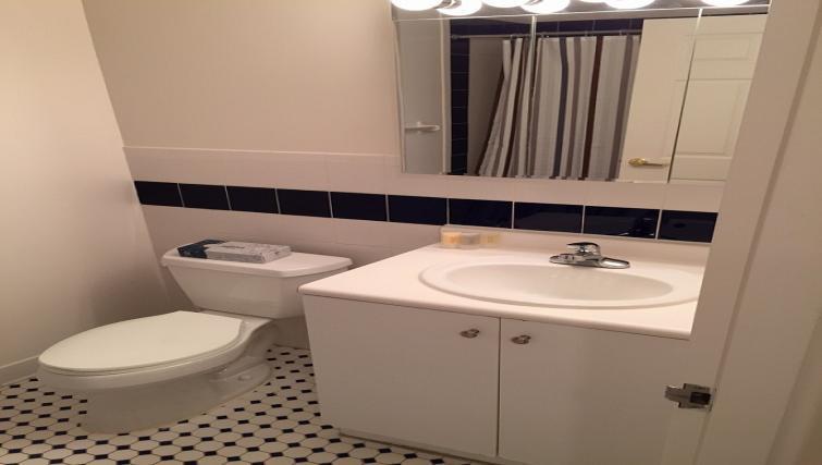 Bathroom at 333 River Street
