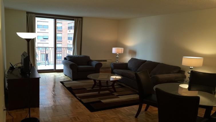 Living area at 333 River Street