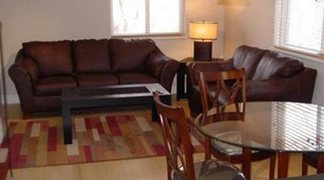 Spacious living area at Gilpin Apartment
