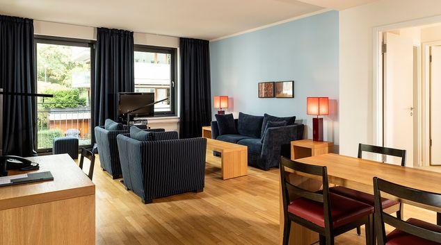 Living rooms at Clipper Elb Lodge