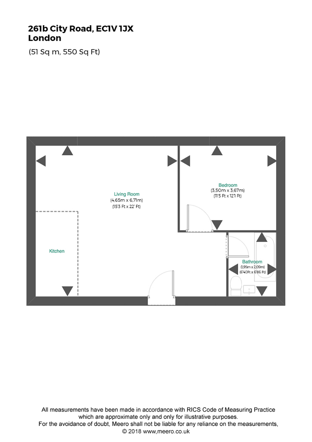 Floor plan at Lexicon Apartments