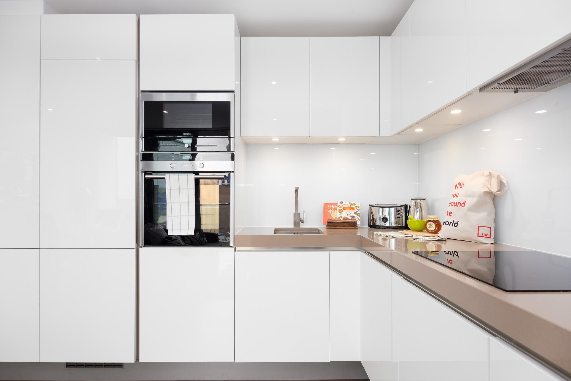 Kitchen at Lexicon Book House Apartments