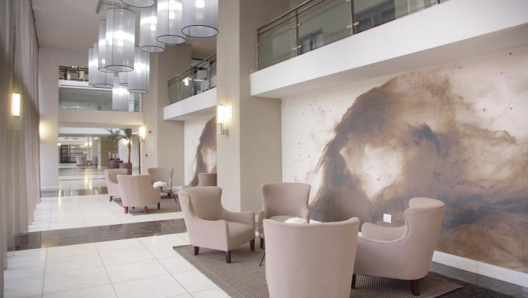 Lobby area at The Capital 20 West