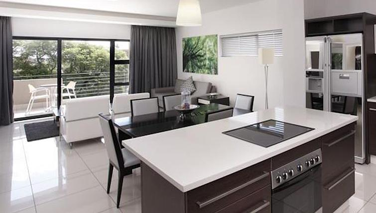 Kitchen/dining area at The Capital 20 West