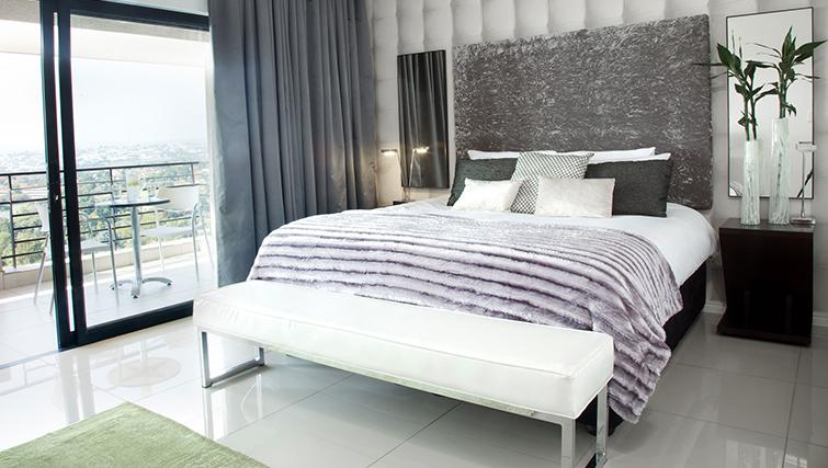 Double bedroom at The Capital 20 West