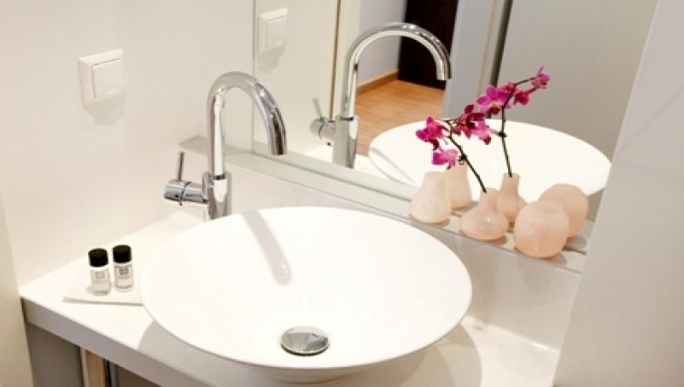 Bathroom at Schwarzwaldstrasse Apartment