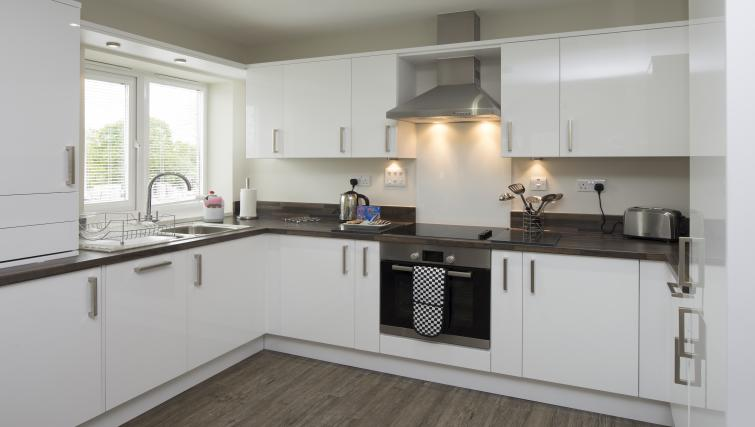 Kitchen at Beneficial House Apartments