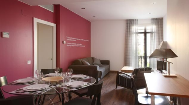 Dining area at The MH Apartments Suites