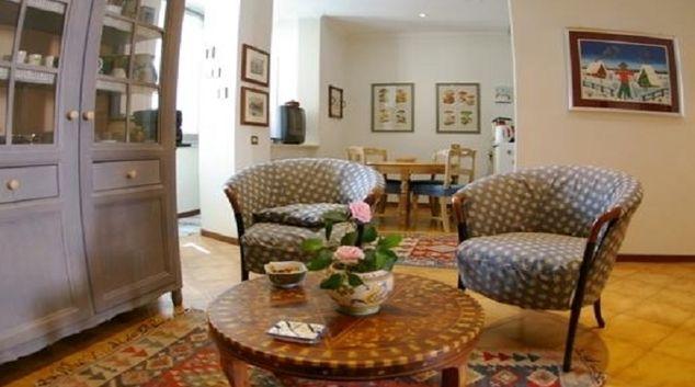 Living area at Montebello Apartment